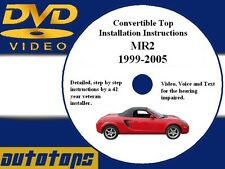 Toyota MR2 Convertible Top Installation DVD | 99-07 | Make Money - Save Money