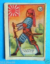 figurines cromos figurine v.a.v. vav la guerra nostra 50 giappone nobile samurai