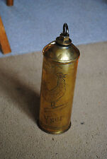 WW1 Yser trench art hot water bottle