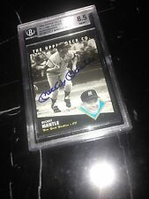 BGS 8.5 Auto Mickey Mantle 1994 Heroes Autograph Yankee Great HOF/1000