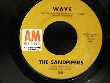 THE SANDPIPERS Wave / temptation AM 1085