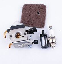 Carburetor Carb Spark Plug Fuel Air Filter for Zama STIHL FS45 FS55R FS55RC HL45
