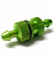 L11502 1/10 Scale R/C RC Nitro Engine Small Inline Alloy Oil Fuel Filter Green