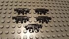 Brickarms XMP Sci Fi Apoc Machine Gun for Lego Minifigures 5 Pack Black