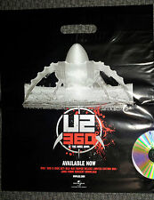 U2 360º TOUR OFFICIAL MERCHANDISE BAG / BONO - THE EDGE - MULLEN - CLAYTON