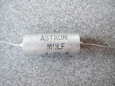 ASTRON   0.25 uf 400 VDC PAPER IN OIL CAPACITORS NOS  TUBE POWER AMPLIFIER