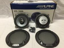 "ALPINE SPE-5000 5-1/4"" CAR SPEAKER 5.25"" CAR AUDIO SPEAKER TYPE E SERIES SPE5000"