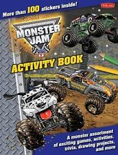 Monster Jam : A Monster Assortment of Exciting Games, Activities, Trivia,...