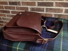 VINTAGE COACH BASEBALL GLOVE LEATHER BRIEFCASE SATCHEL BAG $R698