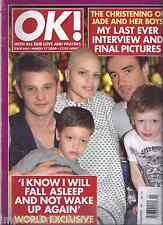 OK magazine Jade Goody Jack Tweed Rihanna Chris Brown Coolio Katherine Jenkins