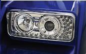 NEW KENWORTH W900/T800 PROJECTOR HEADLIGHTS WITH LED TURN SIGNALS- LEFT SIDE