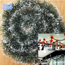 2M Ribbon Dark Green Christmas Ornaments Home Party Holiday Xmas Tree Decor