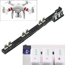 DJI Phantom 2 / Vision+  Battery Charger Parallel Charging Board 3 Batteries
