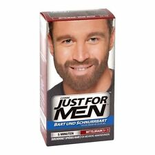 Just for Men Pflege-Brush-In-Color-Gel (Bartgel) Mittelbraun f. Bart&Schnurrbart