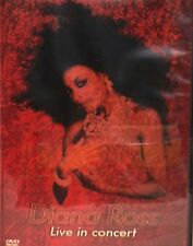 DIANA ROSS LIVE IN CONCERT,DVD, FREE SHIP! BABY LOVE,REACH OUT, W/ Marvin Gaye.