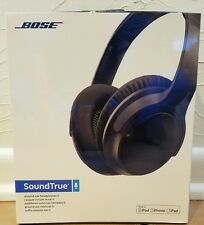 Bose SoundTrue around-ear headphones II Apple devices Charcoal Black - BRAND NEW