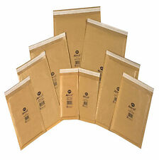 100 x Small sized GENUINE Jiffy bags, bubble-lined, padded envelopes JL000 gold