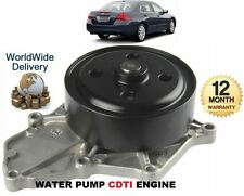 FOR HONDA ACCORD CIVIC CRV FRV 2.2DT CDTi 2/2003-  NEW WATER PUMP KIT