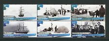 Ross Dependency 2015 Ships, Arctic, Se-Tenant Block of 6 from Special Printing