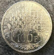 100 Francs Panthéon Argent 1984