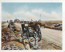 Abandoned English Battery Guns France Deutsches Heer WWI WELTKRIEG 1918 CHROMO