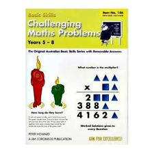 Challenging Maths Problems Years 5-8