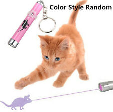 DG/UK Cat Play LED Laser Pointer Toy With Bright Mouse Animation For Endless Fun