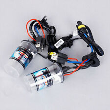 1Pair Car HID Headlight Light H4-2 10000K 35W Bulbs Hi-Xenon Low-Halogen #02-10K