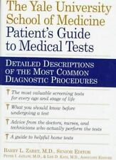 The Patient's Guide to Medical Tests