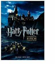 Warner Home Video Harry Potter-complete Collection Years 1-7 [dvd/8 Disc/viva]