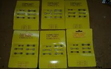 LOTTO STOCK FUSIBILI AUTO IN VETRO 2 -10-16-25 amp / car fuses fusibles auto