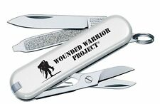 Victorinox Swiss Army White Classic Wounded Warriors Project Logo 55071.US2 NEW