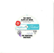 """THE RIGHTEOUS BROTHERS - THE WHITE CLIFFS OF DOVER - PROMO 7"""" 45 VINYL RECORD"""