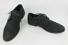 Derby shoes MINELLI Leather Nubuck Midnight Blue T 41   42 VERY GOOD CONDITION