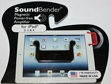 SoundBender Magnetic Power-free Amplifier for Ipad