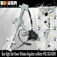 Rear Passenger Side Power Window Regulator w/Motor for00-04 Dodge Dakota CrewCab