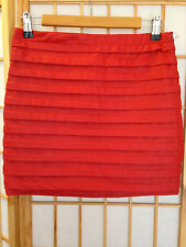 """T SHAPE"" LADIES SIZE ""L"" RED SKIRT"