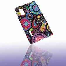 Design no. 3 Silicone TPU Cover Case + Pellicola protettiva display per LG e610 Optimus l5