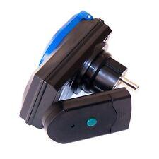 Steckdose für Teichpumpen mit Fernsteuerung