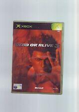 DEAD OR ALIVE 3 - MICROSOFT XBOX GAME / 360 COMPATIBLE- FAST POST - COMPLETE VGC