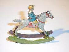 Ges. Gesch Rocking Horse Antique German Tin Litho Penny Toy  EXCELLENT Condition