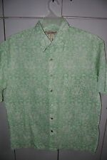 Tori Richard  Large  Classic Victorian Style with Pineapple & Fish on Green/Mint