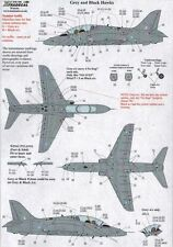 Xtradecal 72168 Decals 1/72 BAe Hawk Maintenance Data for all paint schemes