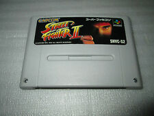 STREET FIGHTER 2 / super famicom / snes / nintendo