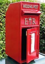"Ultimate Luxury Personalised Post office, Wedding Post box ""NOT FIBRE GLASS"""