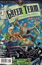 THE GREEN TEAM # 1  DC COMICS  2013  vf+
