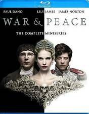 WAR & PEACE The Complete mini Series   Blu-ray Discs,  2016...