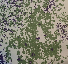 Danish Army M84  Denmark  green camouflage  COLOR MISMATCH  cotton-blend  fabric