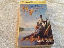 Paperback book The Adventures of Huckleberry Finn