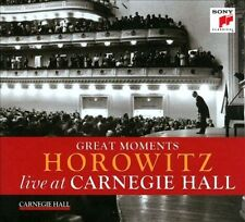 Great Moments: Horowitz Live at Carnegie Hall, New Music